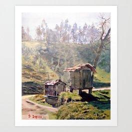 Cabazos Art Print