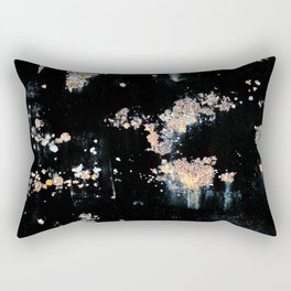 OXIDE ON BLACK BACKGROUND Rectangular Pillow