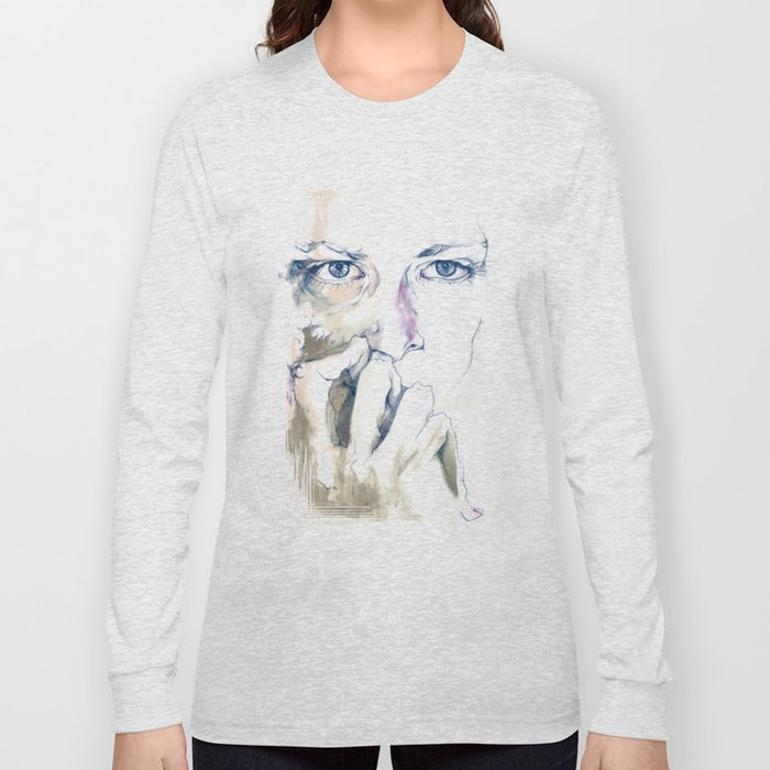 retrato Long Sleeve T-shirt
