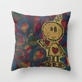 Diggity Pop Art Throw Pillow