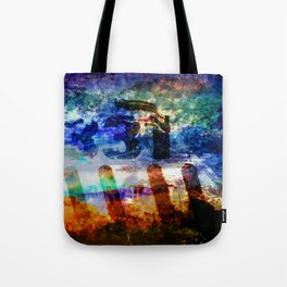 Photos of Yesterday and Today. Tote Bag
