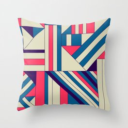 Geo1. Throw Pillow