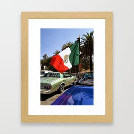 Cinco de Mayo at the Park Framed Art Print