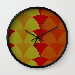 Polyester Pantsuit Wall Clock