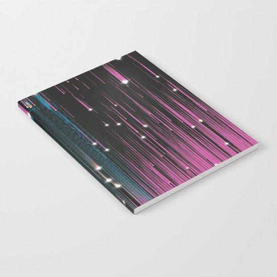 Pink Meteors Notebook