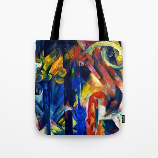 """Franz Marc """"Forest with squirrel"""" by alexandra_arts"""