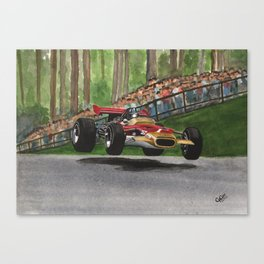 Graham Hill Canvas Print