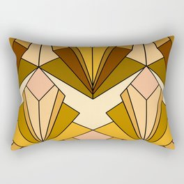 Art Deco meets the 70s - Large Scale Rectangular Pillow