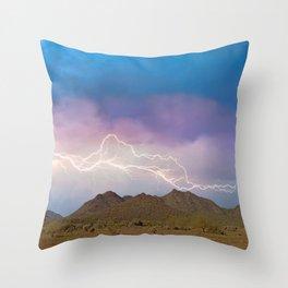 Monsoon Overture II Throw Pillow