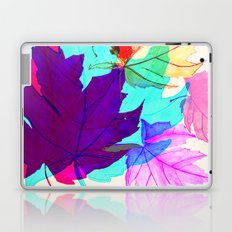 Maple Leaves Falling Laptop & iPad Skin
