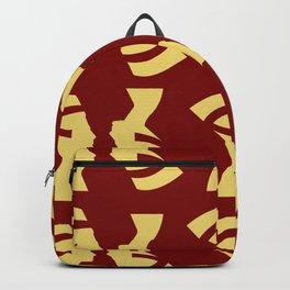Golden Queen Large Print Backpack