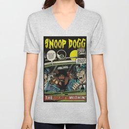 Dangerous DOGG Unisex V-Neck