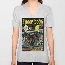 Dangerous DOGG Unisex V-Neck