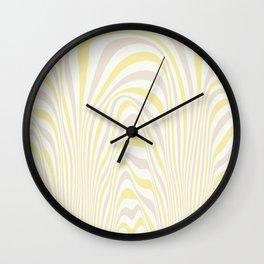Polar Dunes Wall Clock