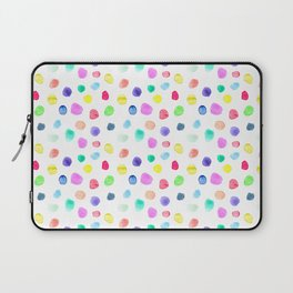 Watercolor confetti Laptop Sleeve