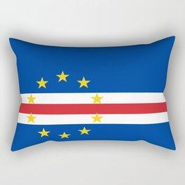 Cape Verde Flag Rectangular Pillow