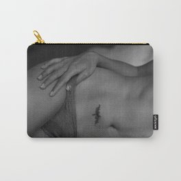 Beautiful Curves  of Woman in Lingerie Carry-All Pouch