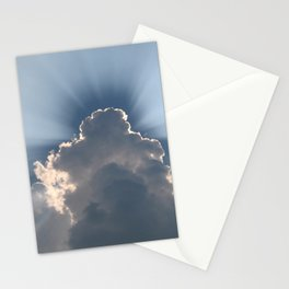 Silver Lining Sky Stationery Cards