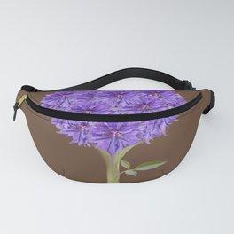 Flowerpower - Purple Flower Ball - Society6# #buyart Fanny Pack