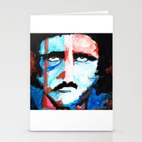 poe Stationery Cards featuring Poe by J. John Whitmore