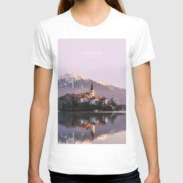 Lake Bled, Slovenia Artwork T-shirt