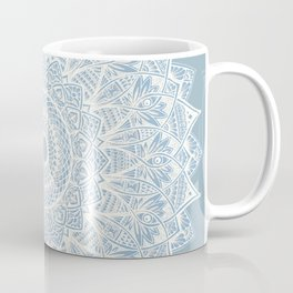 The Sunflower (gray-bue) Coffee Mug