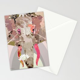 ES-826 Shibui Elephant  Stationery Cards