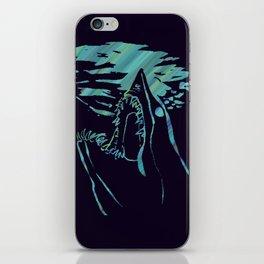 blue mako shark iPhone Skin