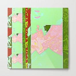 Rose Collage 138 Metal Print