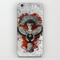 phoenix iPhone & iPod Skins featuring Phoenix by Diogo Verissimo