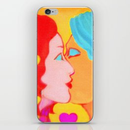 Forms of Love FemaleMale iPhone Skin