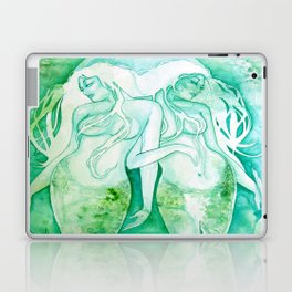 Goddess of Pisces - A Water Element Laptop & iPad Skin