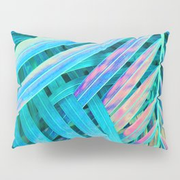 Rainbow Palms Pillow Sham