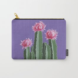 Violet With Envy Carry-All Pouch