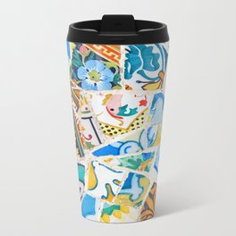 Mosaic No.11 Metal Travel Mug