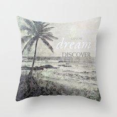 discover Throw Pillow
