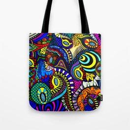 Loopy Zentangle Tote Bag