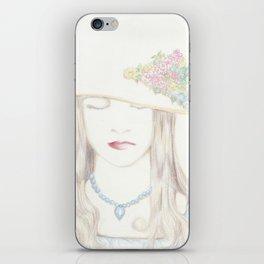 noblewoman iPhone Skin