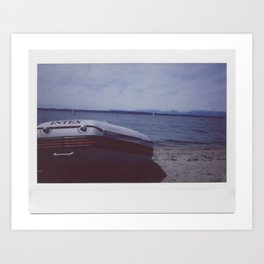 Dinghy! Art Print