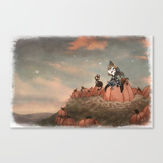 Harvest Noon Canvas Print