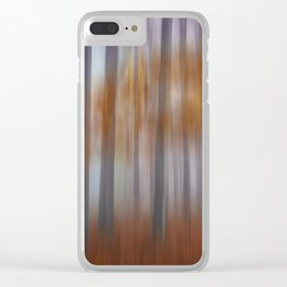 The silence Clear iPhone Case