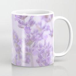 Lovely Lavenders Pastel Purple Background #decor #society6 #buyart Coffee Mug