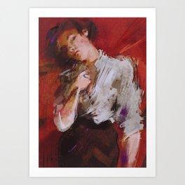 """Audrey"" Art Print"