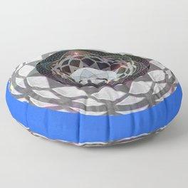 Resonance and Centering Meditation Mandala Floor Pillow