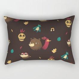 banjo pattern Rectangular Pillow
