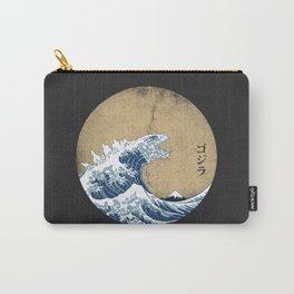 Hokusai Kaiju - Vintage Version Carry-All Pouch