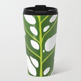 Tropical leaf illustration III Travel Mug