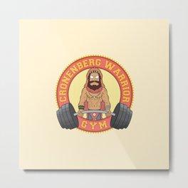 Cronenberg Warrior Gym Metal Print