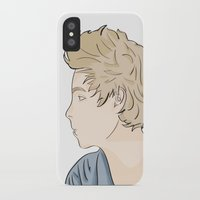 luke hemmings iPhone & iPod Cases featuring Luke - watercolor by Feds