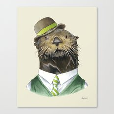 Sea Otter Canvas Print